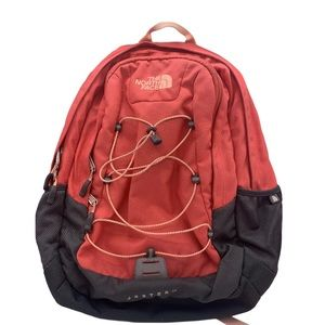 NORTH FACE JESTER Backpack Coral/Gray Bag 002